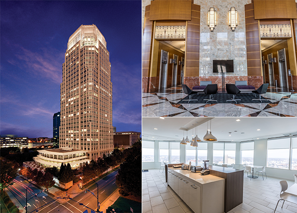 New Owners Of Wells Fargo Center Turn To Cbre Triad For Leasing Expertise Cbre