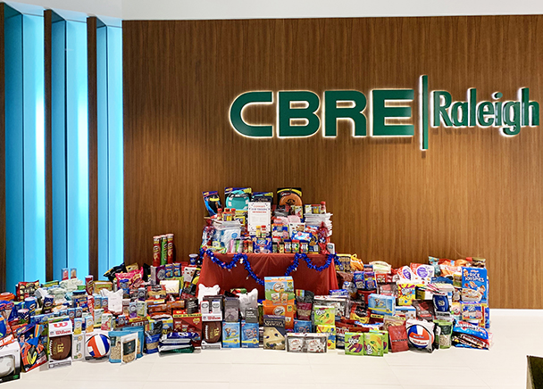 CBRE Support the Troops Drive 2019