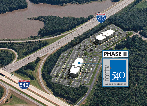 First Tenant and Commencement Announced for Forty540 II Development in Morrisville, NC