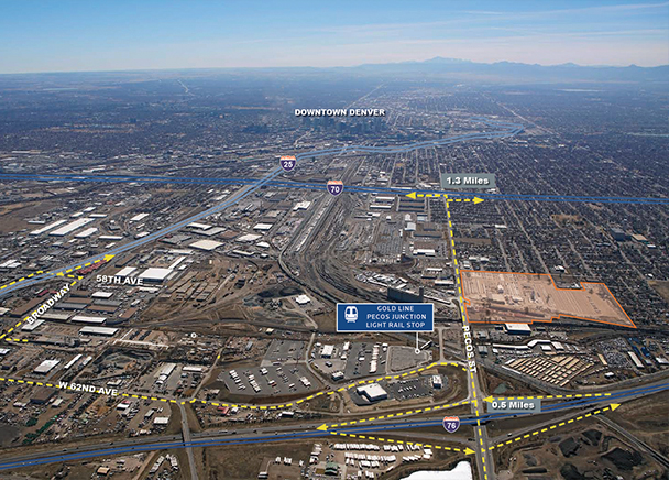 Westfield Purchases First Phase of Prime Denver In-Fill Site for Future Class A Industrial Development