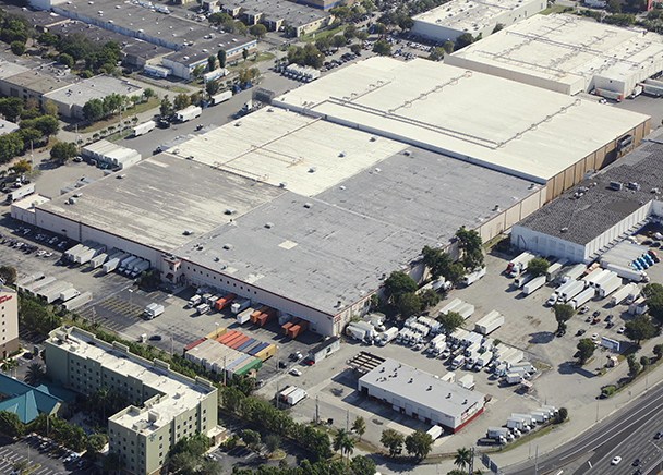 CBRE ARRANGES $19.5 MILLION SALE OF 180K SF DISTRIBUTION CENTER IN MIAMI, FL