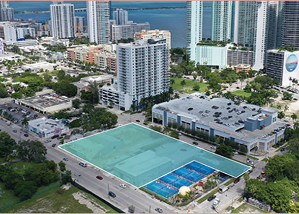 CBRE IS HIRED TO SELL MIXED-USE DEVELOPMENT SITE IN MIAMI EDGEWATER NEIGHBORHOOD