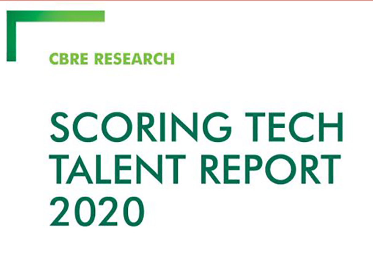 TAMPA RANKS AS TOP MARKET IN FLORIDA ON CBRE'S ANNUAL SCORING TECH TALENT REPORT