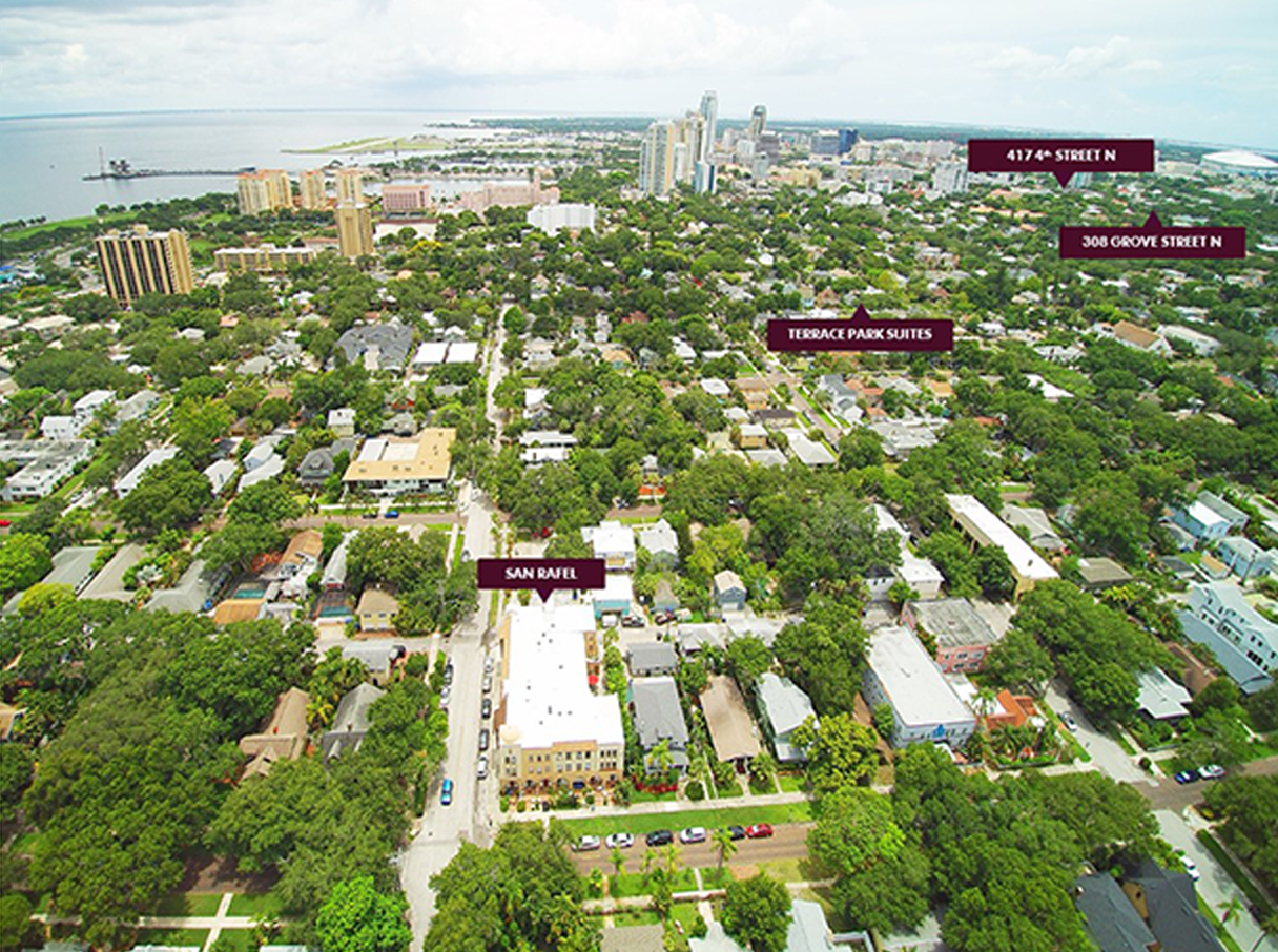 CBRE CLOSES 15 MILLION SALE OF MULTIFAMILY PORTFOLIO IN ST  PETERSBURG FL