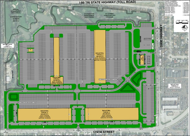 CBRE to Market New 127-Acre Logistics Park in South Suburban Cook County
