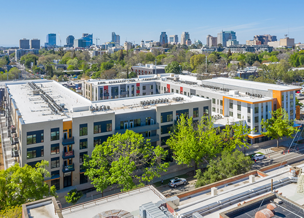 CBRE Arranges Sale and Financing for The Press at Midtown Quarter in Sacramento