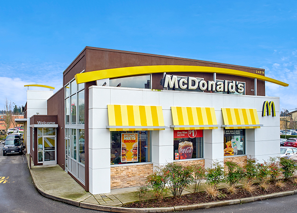 CBRE Brokers $4.15 Million Sale of Rare Ground-Leased McDonald's in Federal Way