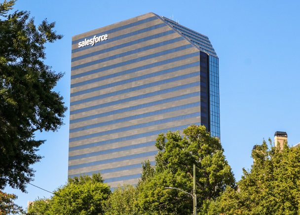 Attracting talent & visibility led Salesforce to expand in renovated Buckhead office tower