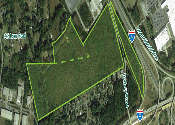 CBRE Facilitates Sale of 96.00 Acres in Spartanburg to Industrial Developer