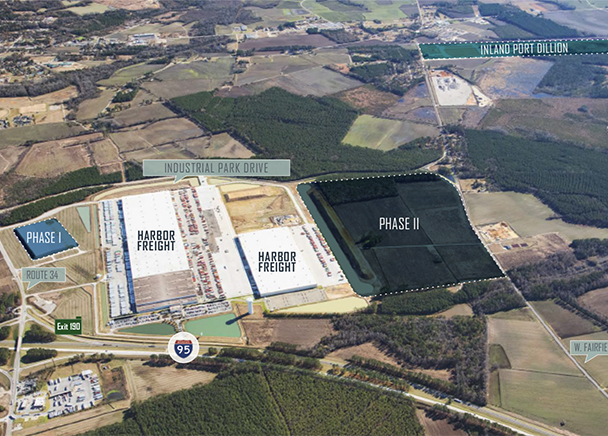 First Speculative Logistics Center Coming to Market Near Dillon Inland Port