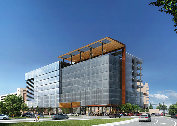 CBRE Marketing 200,000-Square-Foot Mixed-Use Building For The Employees Retirement System of Texas