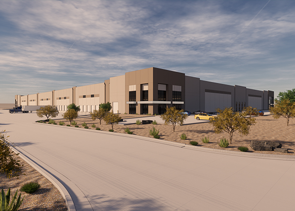Blue Road Investments Breaks Ground On New Speculative Industrial Spec Building In The El Paso Market