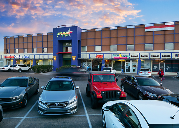 CBRE Announces $5.15 Million Sale of Midstar Plaza in Tucson, Ariz. to LBM Investments