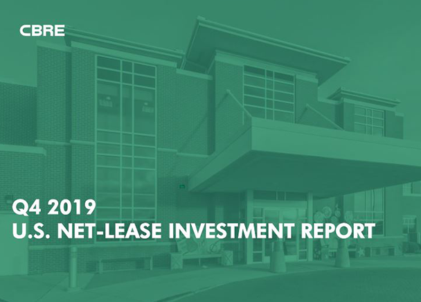 Record Year for U.S. Net-Lease Investment as Capital Targets Secondary Markets