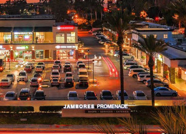 CBRE SECURES $20 MILLION LOAN FOR JAMBOREE PROMENADE IN IRVINE, CA