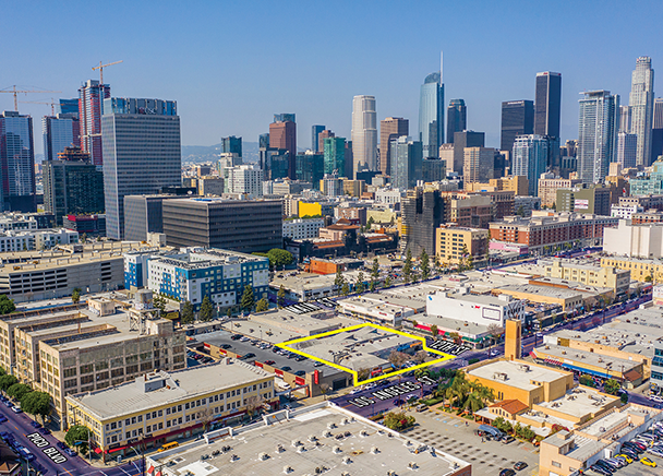 CBRE Announces Sale of Mixed-Use Redevelopment Project in Downtown LA's Fashion District for Nearly $10.3 Million
