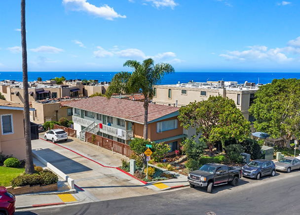CBRE Announces Sale of Multifamily Property in La Jolla for $3.01 Million