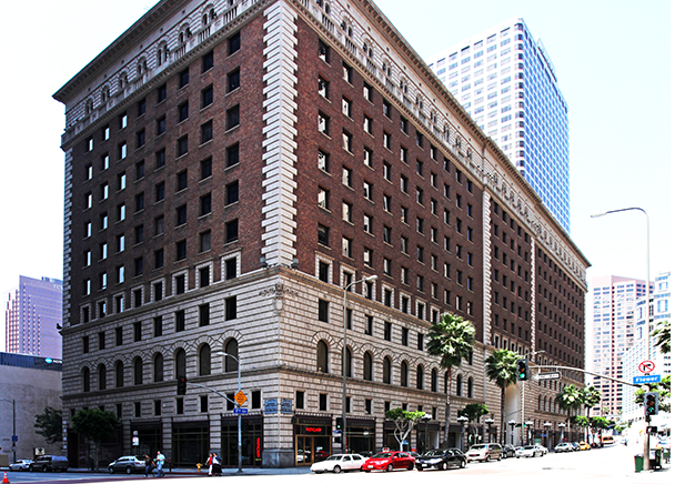 CBRE ANNOUCES LEASE TO GLOBAL ARCHITECTURE FIRM AT ICONIC DOWNTOWN LA BUILDING