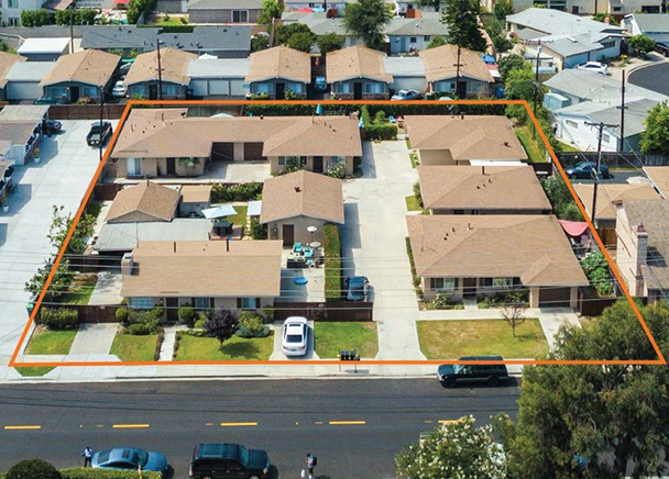 CBRE Arranges Sale of Two Apartment Properties in Costa Mesa, Calif. for Total of $4.9 Million to Complete 1031-Exchange