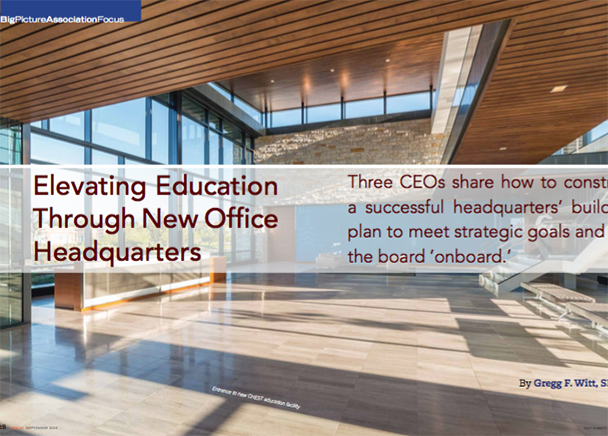 Elevating Education Through New Office Headquarters