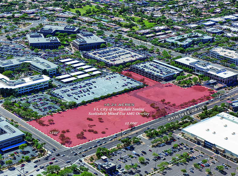 CBRE Announces Sale of 8.24-Acre Parcel in North Scottsdale to Trammell Crow Company