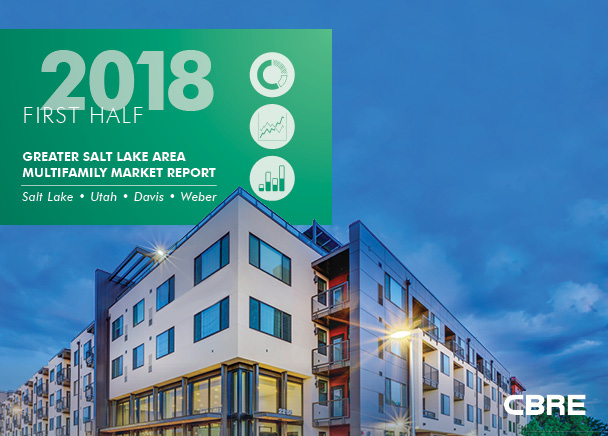 CBRE Releases Semi-Annual Greater Salt Lake Area Multifamily Market Report