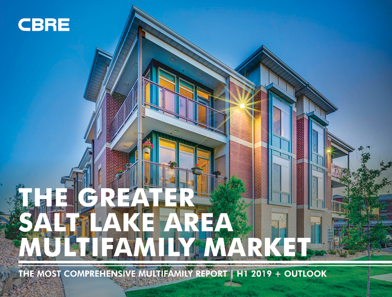 Greater Salt Lake Multifamily Market Achieves Mid Year Sales Volume of $585 Million; Vacancy Rates Remain Unchanged For Third Straight Year
