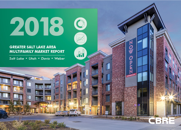 CBRE Publishes Semi-Annual Greater Salt Lake Area Multifamily Market Report