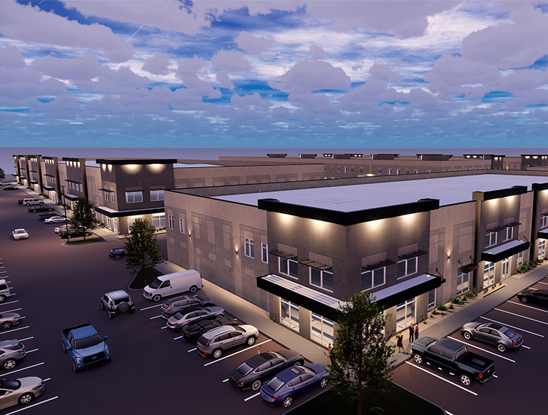 Pella Windows Signs 22,700 S.F. Industrial Lease in Sandy's New Synergy Business Park