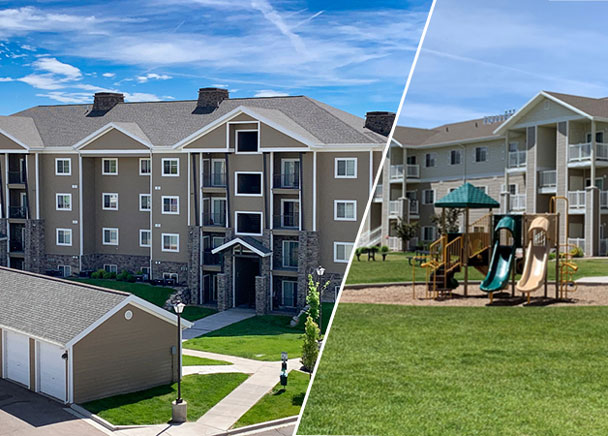 CBRE ANNOUNCES THE SALE OF ASHLEY CREEK VILLAGE AND THE WILLOW PARK APARTMENTS