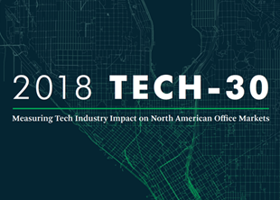 Los Angeles Ranks No. 2 for Tech Office Growth in CBRE's Latest Tech-30 Report