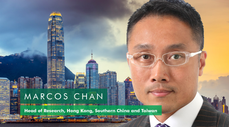 Marcos Chan, Head of Research Hong Kong, Southern China & Taiwan