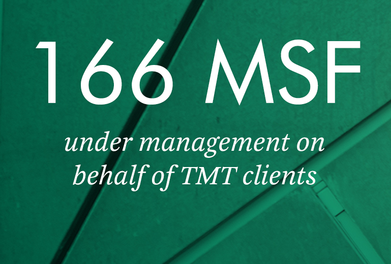 166 MSF under management on behalf of TMT clients