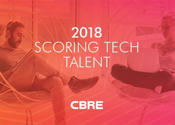 CLEVELAND AMONG TOP CITIES FOR TECH TALENT GROWTH, RANKING #8 ON CBRE'S ANNUAL LIST OF MOMENTUM MARKETS