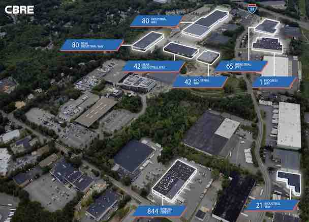 CBRE Represents I. Fred Dicenso Trust in $154 Million Sale of Boston Infill Industrial Portfolio