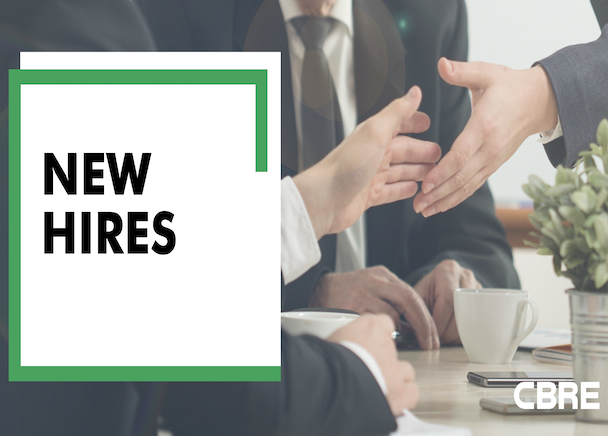 CBRE Continues Hiring Push During Pandemic, Expands Its Advisory & Transaction Services Business With Two Strategic New Hires