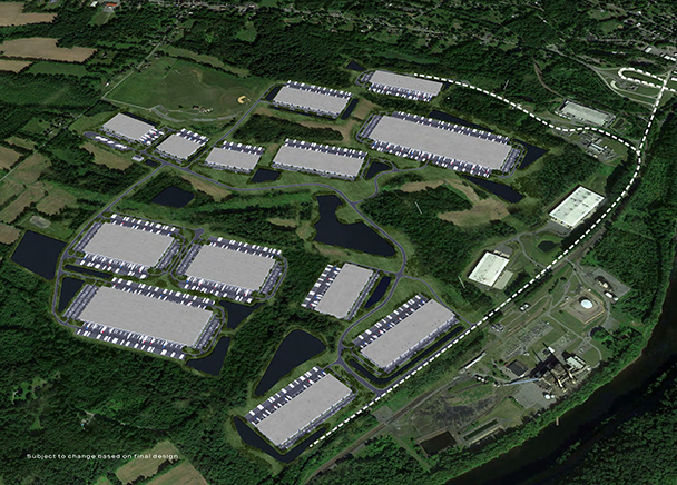 CBRE Kicks Off Major Leasing Campaign for 5.5M SF River Pointe Commerce Park, the Largest Planned Industrial Park on the Eastern Seaboard