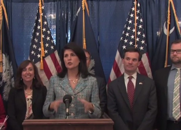 CBRE report praised by S.C. Governor Nikki Haley