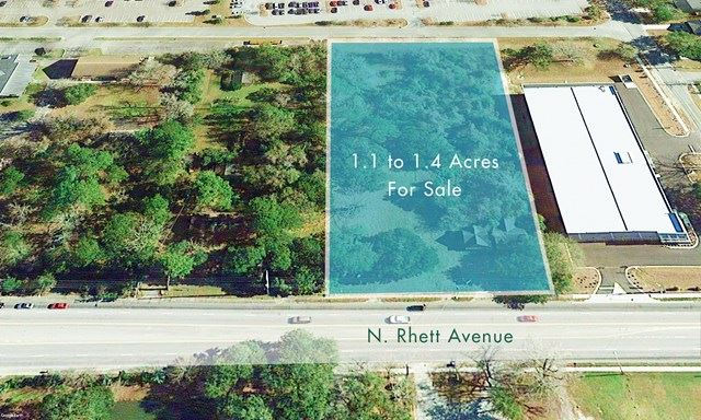 5524 N Rhett Land Aerial_Parcel Outline.jpg